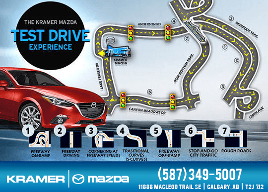 The Kramer Mazda Test Drive Experience