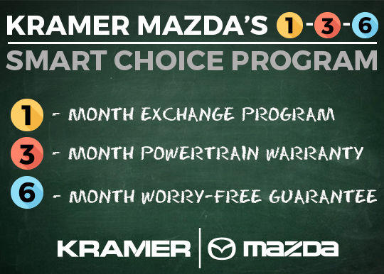 Kramer Mazda's 1-3-6 Smart Choice Program