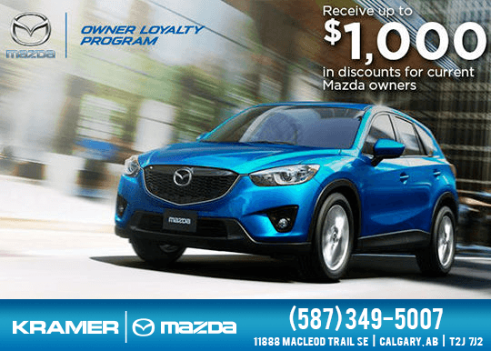 Mazda Owners Loyalty Program
