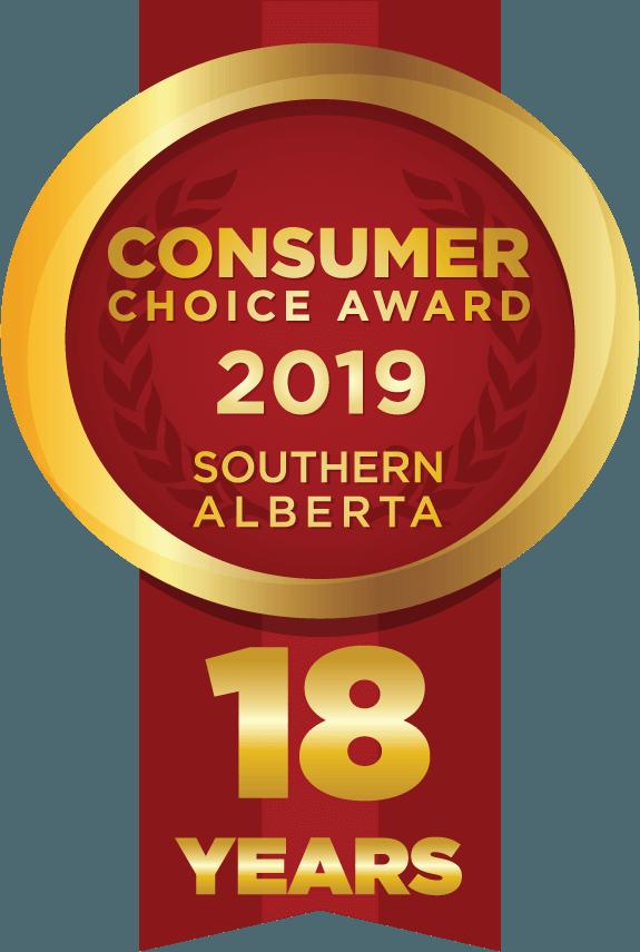 Consumer Choice Award 2019, Southern Alberta.